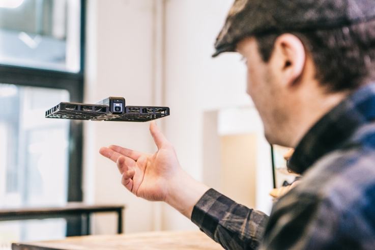Hover Camera Released off Hand