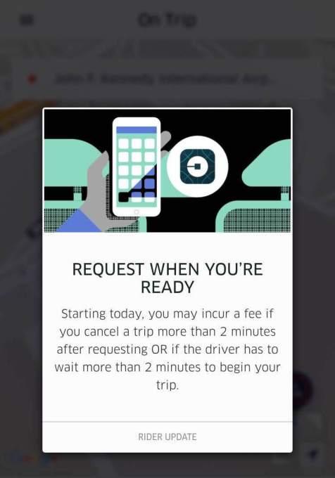 Uber 2 minutes
