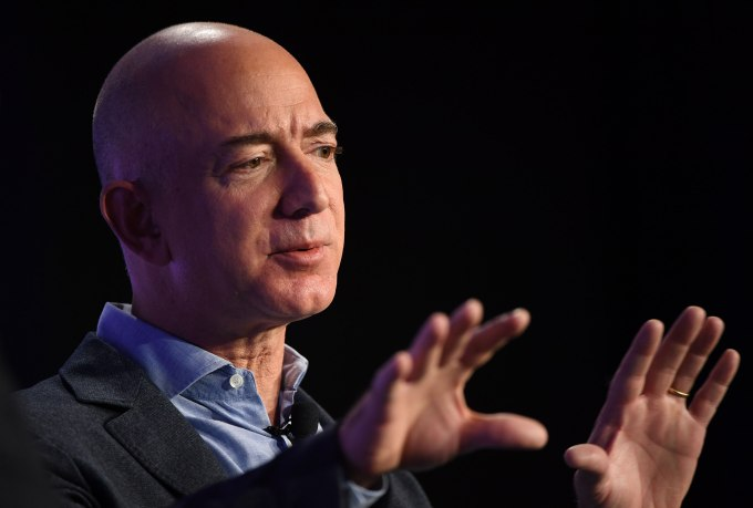 Amazon Founder Jeff Bezos Interviewed At The Washington Post
