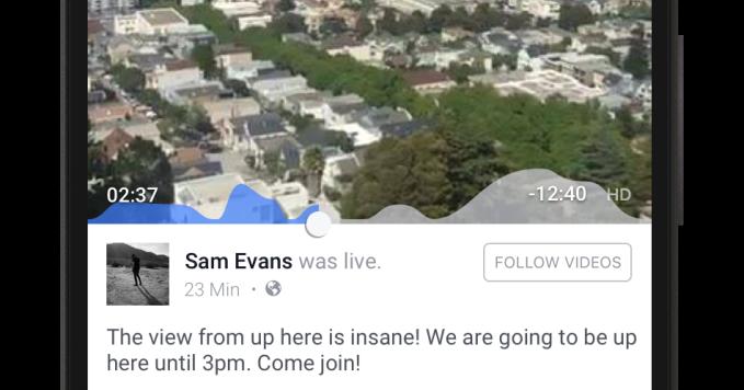 Facebook Live Video Engagement Graph