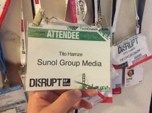 First Disrupt Arrended Badge