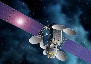 Illustration of JCSAT-14 / Image courtesy Space Systems Loral