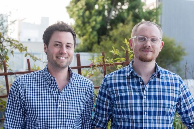 Lattice founders Jack Altman and Eric Koslow (from left)
