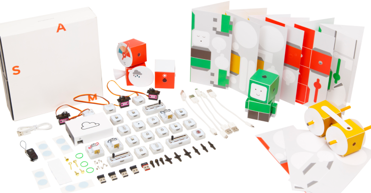 The high-end Family kit comes with a ton of different gizmos, but simpler kits are available, too