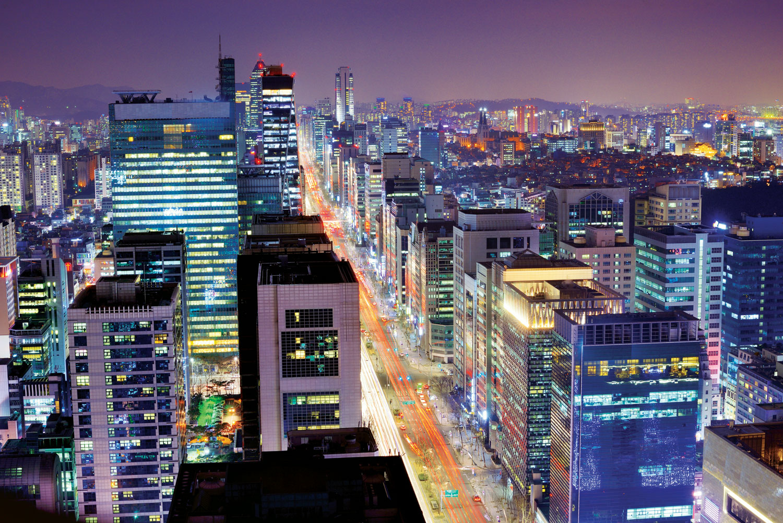 South Korea Gangnam startup district