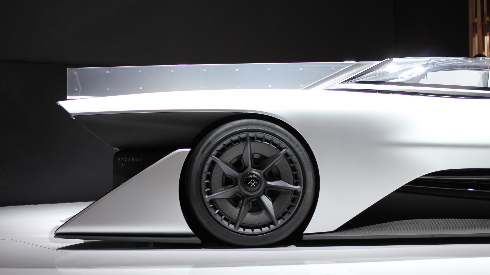 Faraday Future concept car CES 2016