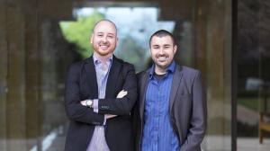 Tony DiMatteo and Matt Clemenson, cofounders of AutoLotto.