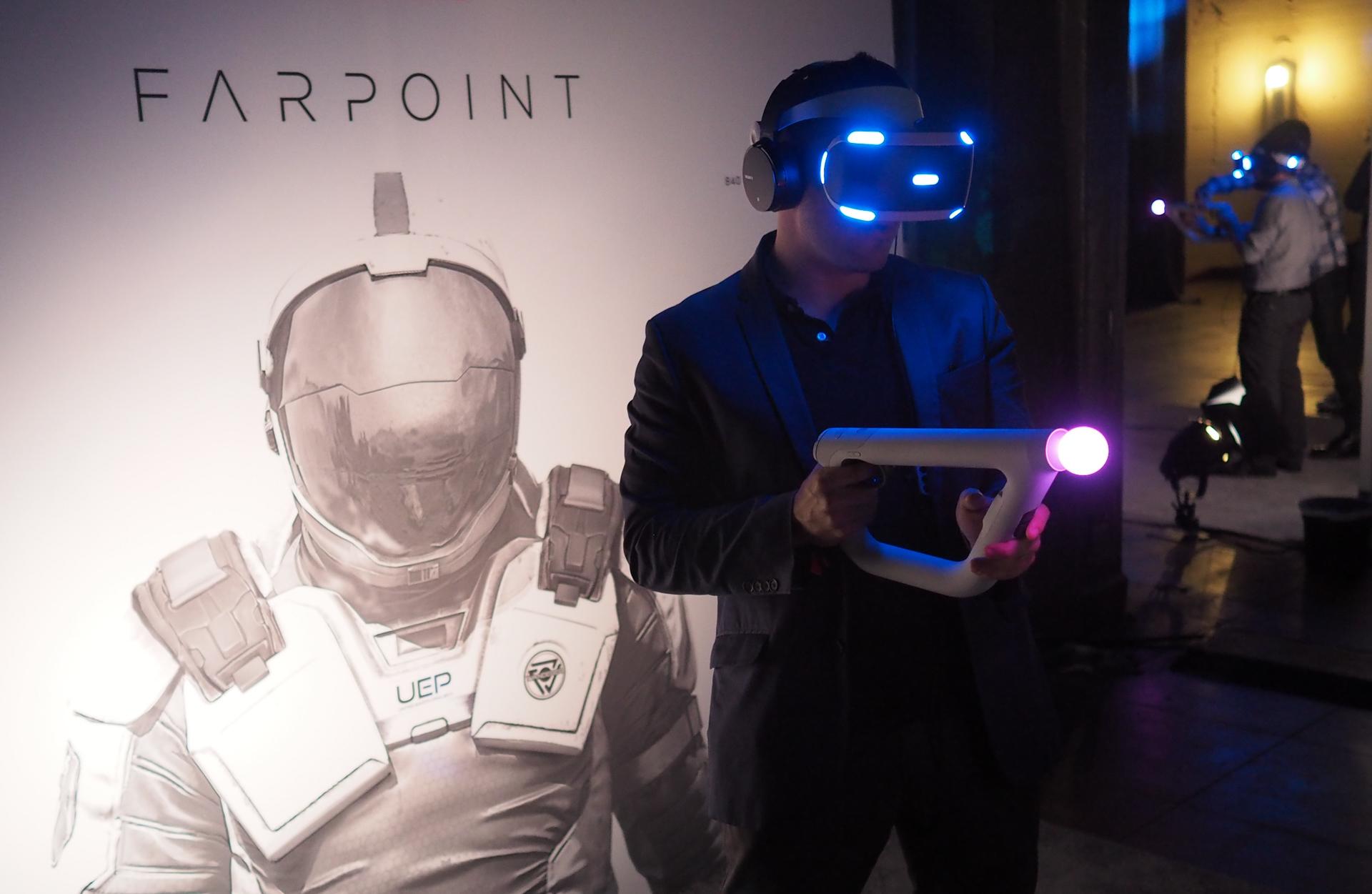 Farpoint VR demo psvr