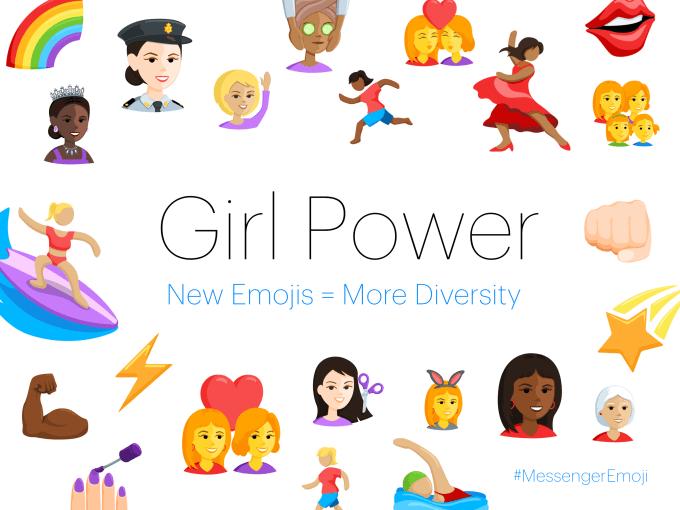 facebook Female emojis