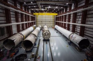 SpaceX's four recovered rockets / Image courtesy of SpaceX