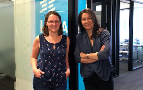 Impact Engine partners Jessica Droste Yagan and Tasha Seitz.