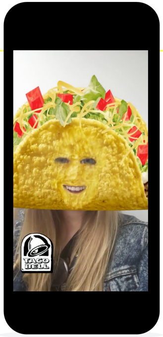 Snapchat Taco Bell Lens