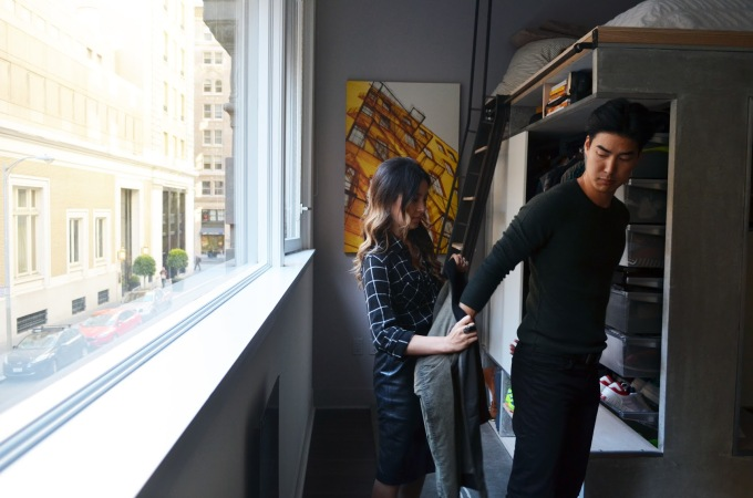Stylist with male client