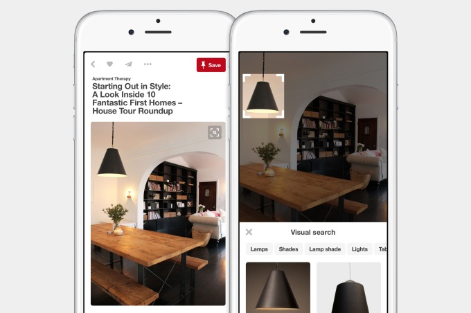 Visual Search on Pinterest