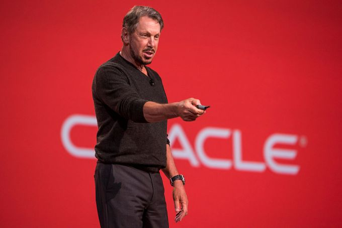 Larry Ellison, chairman of Oracle Corp.