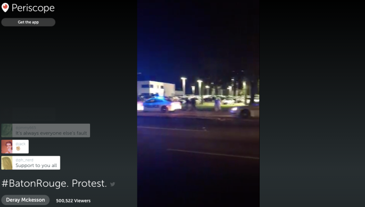 Periscope captures Deray's arrest