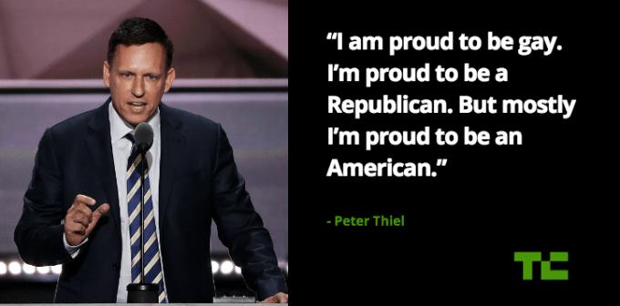 Peter Thiel RNC