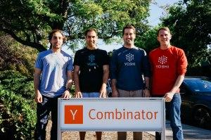 Yoshi co-founders: Nick Alexander, David Gobaud, Bryan Frist, and Dan Hunter.