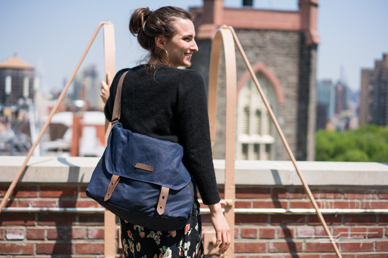 The Waterfield Vitesse looks great and holds up in school, city, and outdoor environments. Photo: Michael Hession