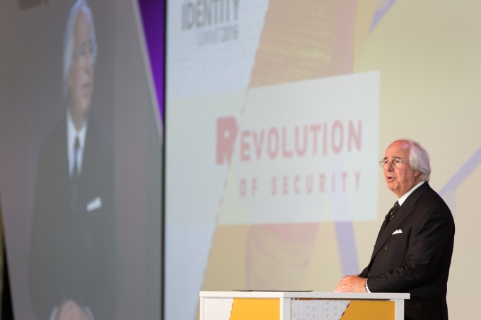 Frank Abagnale speaking at Cloud Identity Summit in New Orleans in June.
