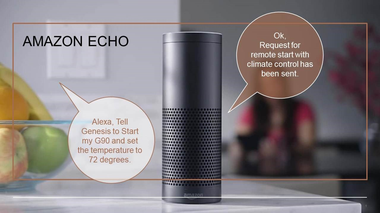 GENESIS TEAMS UP WITH AMAZON TO BRING CONNECTED CARS TO CONNECTED HOMES