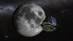Illustration of Moon Express lander / Image courtesy of Moon Express