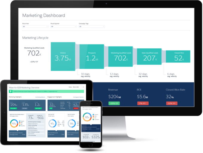 Salesforce Wave B2B Marketing Application