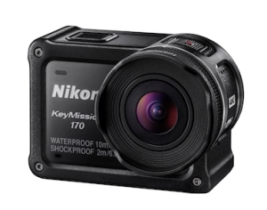 Nikon's brand new KeyMission 170 is most similar to a GoPro.