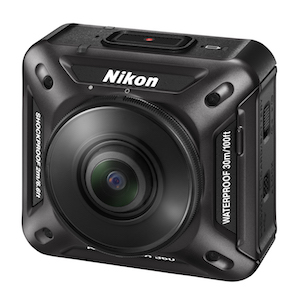 Nikon's KeyMission 360 is probably the most interesting camera of the bunch