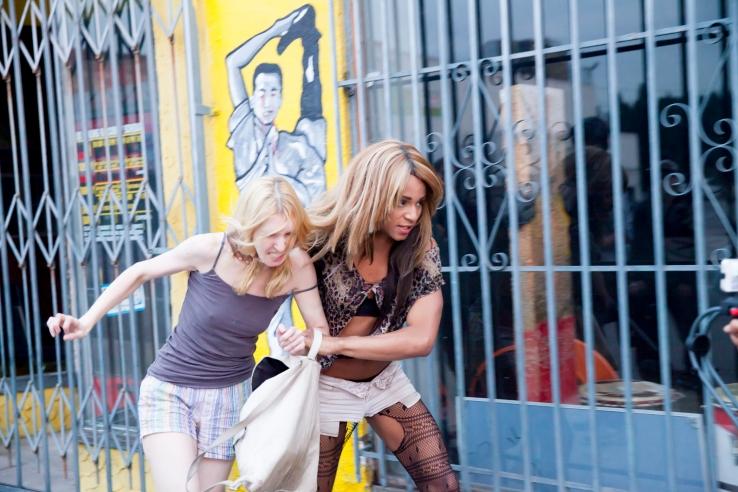 Tangerine is an award-winning motion picture, shot entirely on the iPhone 5s.