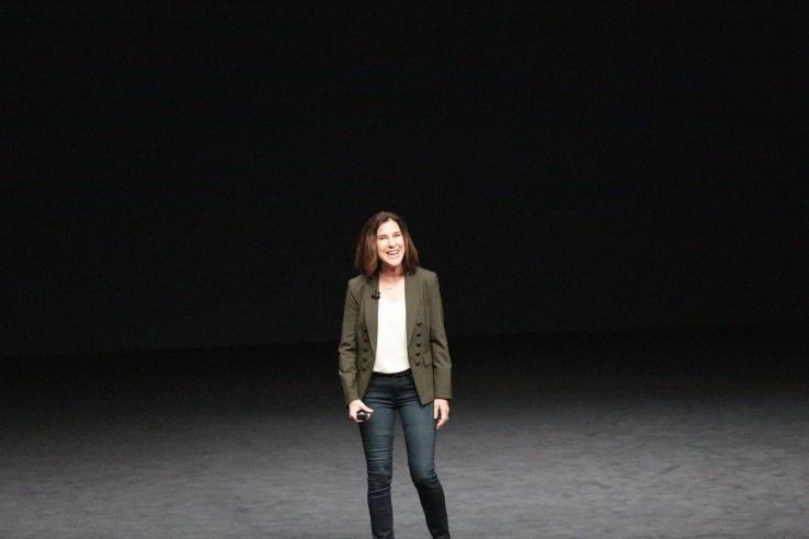 Apple's VP of Worldwide Marketing, Susan Prescott.