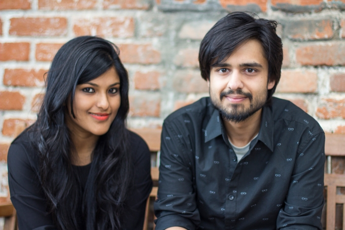 Co-founders [Use this Caption - Co-founders Ankiti Bose & Dhruv Kapoor]