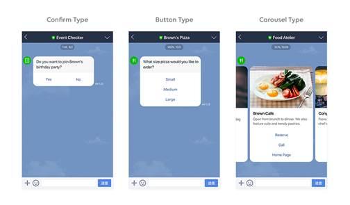 Line chatbots