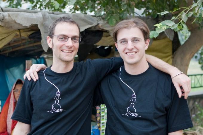 Ned Tozun and Matt Goldman, co-founders of d.light