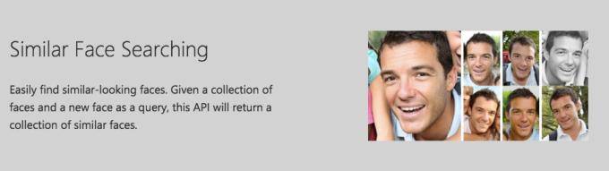 Microsoft Face API