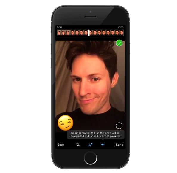 Telegram DIY GIFs