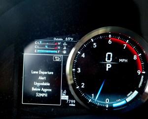 2016 Lexus GS-F Dash