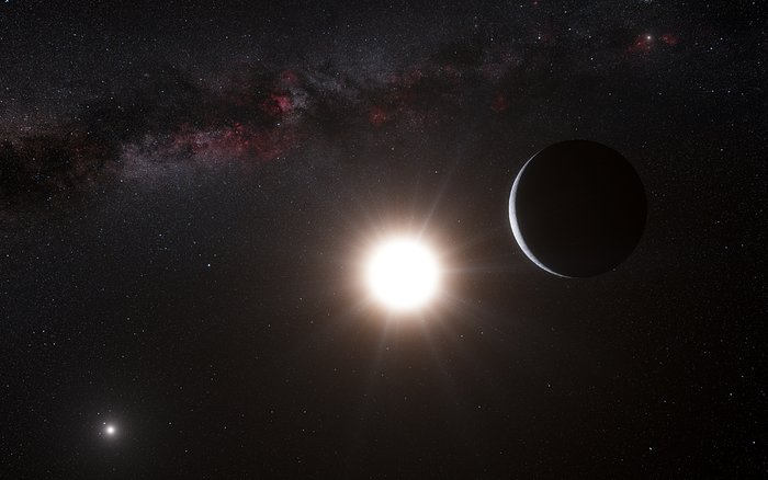 Artist's concept of how the system might look up close.