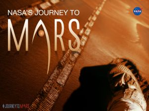 One of NASA's many Journey to Mars campaign posters / Image courtesy of NASA