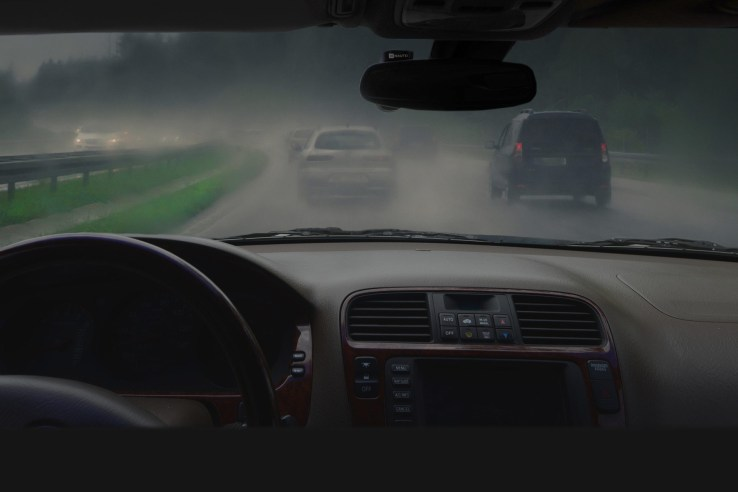 Nauto's camera-based system detects dangerous situations on the road or in a car.