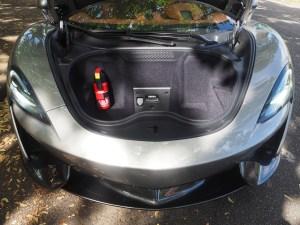 McLaren 570 GT frunk