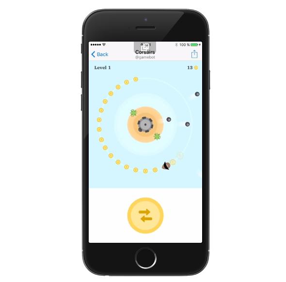 Telegram bot gaming platform Corsairs