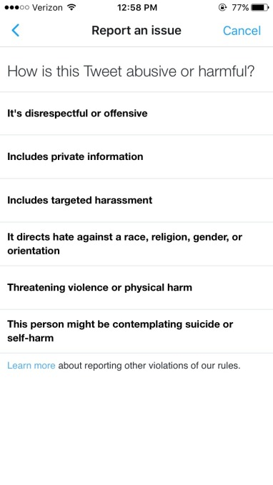hateful-conduct-reporting-flow