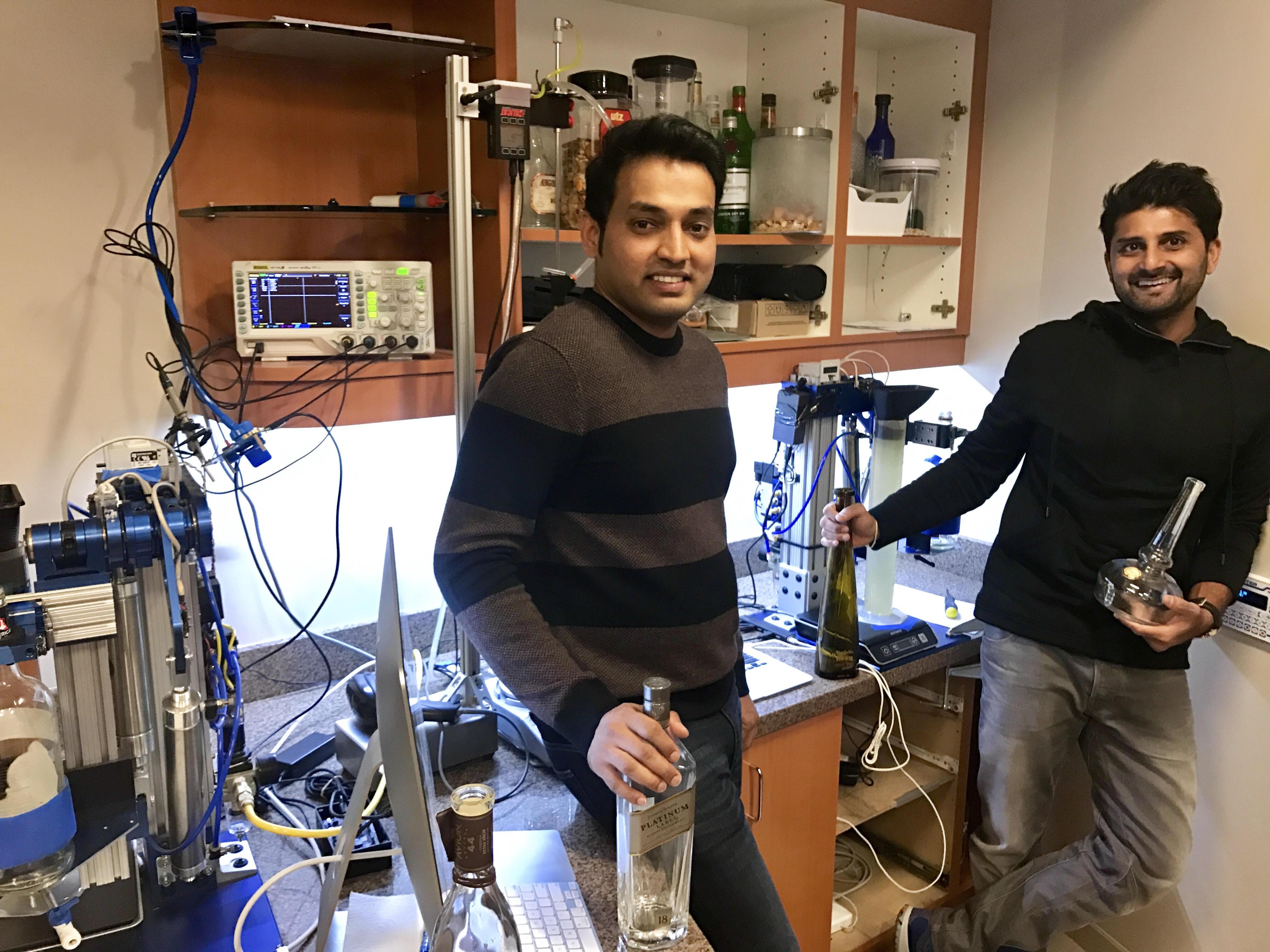 "Nectar co-founders Prabhanjan ""PJ"" Gurumohan & Aayush Phumbhra"