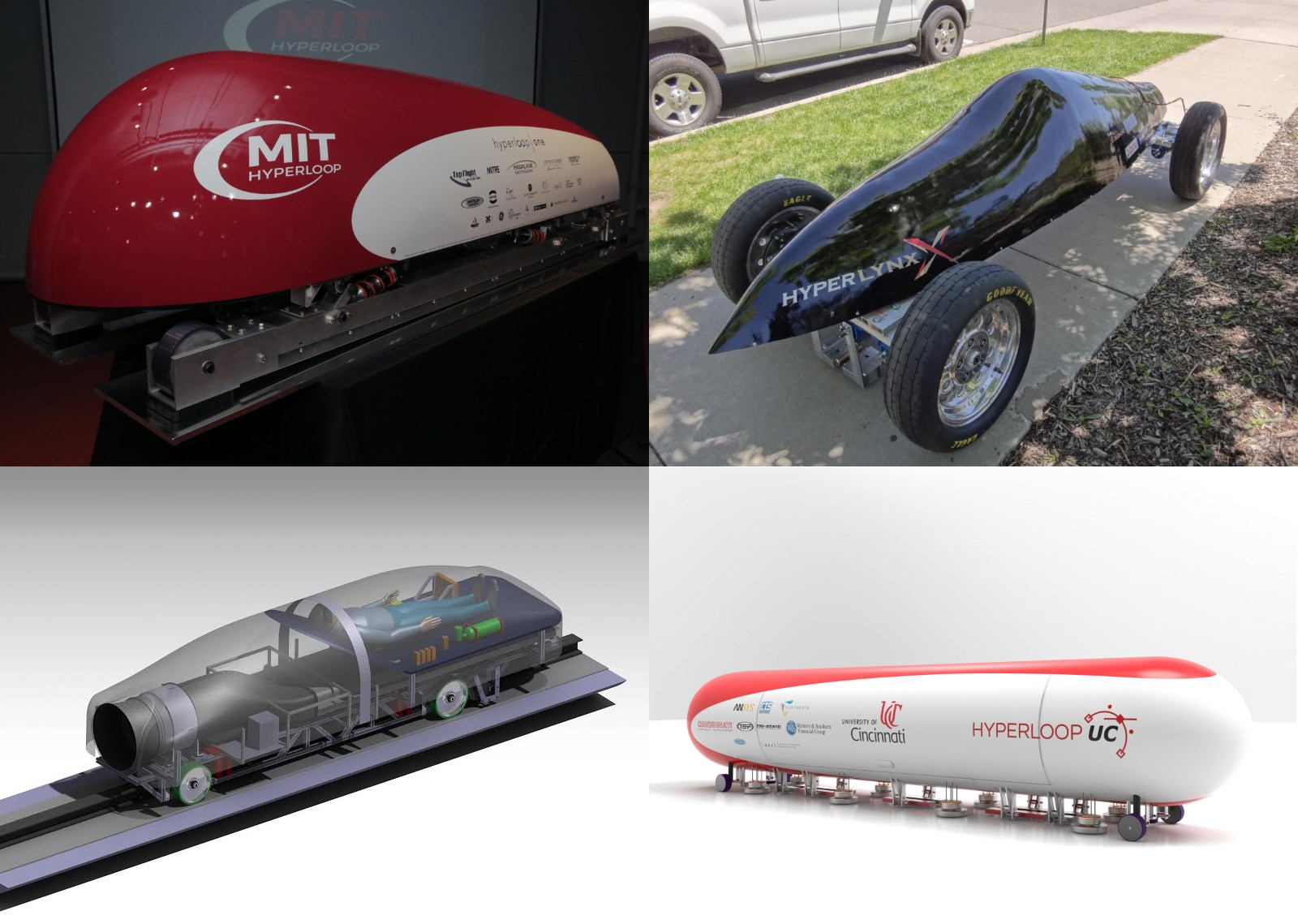 MIT's Hyperloop pod design from SpaceX's recent university competition.
