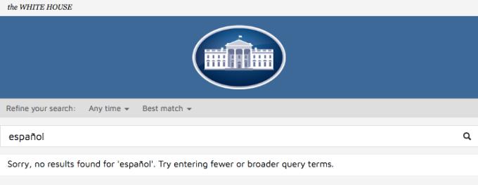 Trump White House website