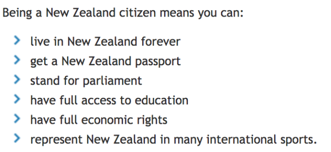 New Zealand citizenship
