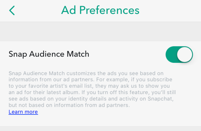 snapchat-ad-targeting-opt-out