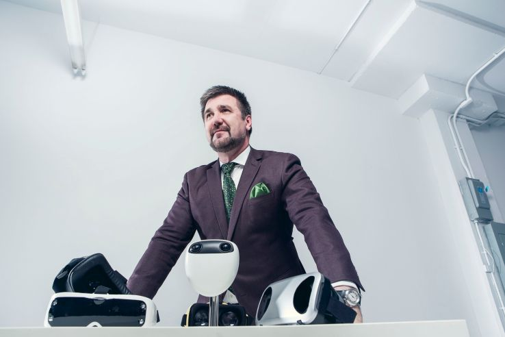 Terpon CEO Jean Claude Artonne.