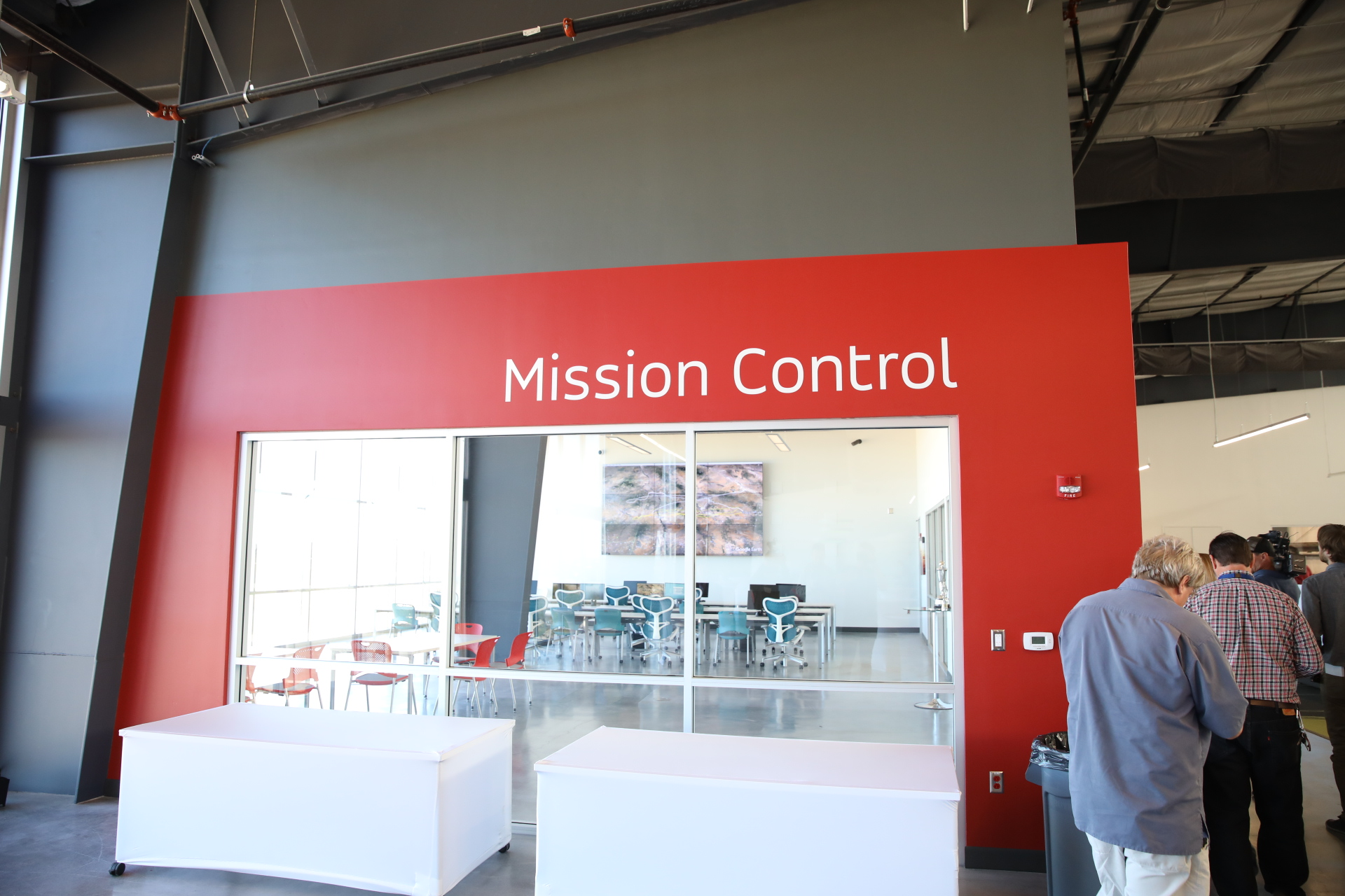 Mission Control at World View's Tucson HQ.